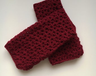 Handmade Crochet Wrist Warmer