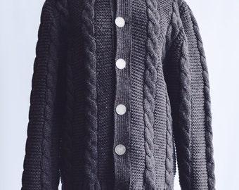 Jersey Vintage wool Irish Marronz