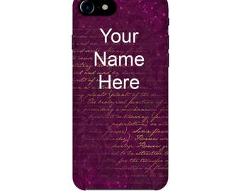 Customize Case, iPhone 5/5S/SE cases, iPhone 6/6S, iPhone 7 case, vintage