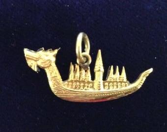 Asian dragon boat 10K vintage# 898
