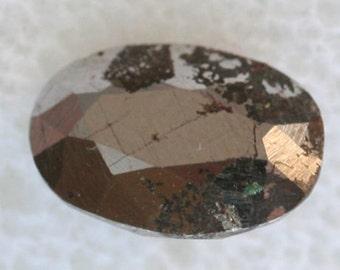Meteorite: Iron 3.02cts Oval Cut 8.80 x 6.20mm ov6313 Loose Faceted Gemstone Jewelry Making Semi Precious