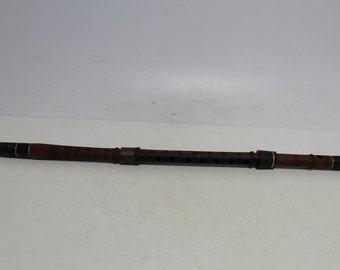 Antique Primitive Old Wooden Flute Kaval 25''1/4