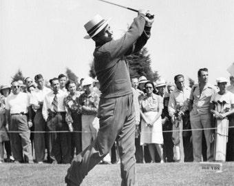 Golf  Photograph  Bing Crosby   1942 Pro-Amateur Golf Tournament