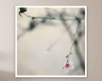 Pink Blossom, Dreamy Wall Art, Spring Blossom, Rustic Print, Floral Wall Art, Cherry Blossom Photography, Minimalist Flower Print, Digital