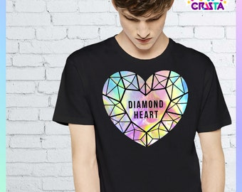 Diamond Heart (Holographic)