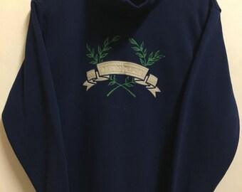 Vintage 90's Arnold Palmer Sport Classic Design Skate Sweat Shirt Sweater Varsity Jacket Size M #A752