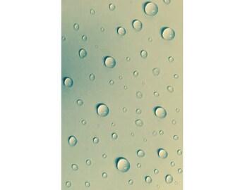 Water Drops Photograph Print