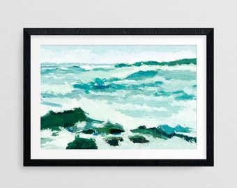 Off the Coast- Coastal Decor- Coastal Gifts- Beach Gifts- Prints for Decor- Beach Art- Coastal Art- New England