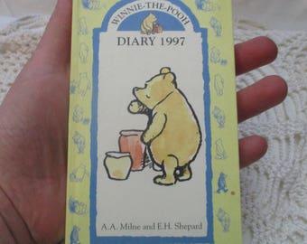 Winnie the Pooh Pocket Diary 1997 - A A Milne