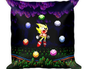 Sonic the Hedgehog 2 Super Sonic Pillow