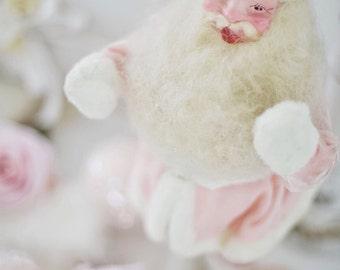 RARE vintage pink Santa