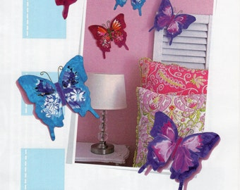 Butterfly accents by Poor House Quilt Designs