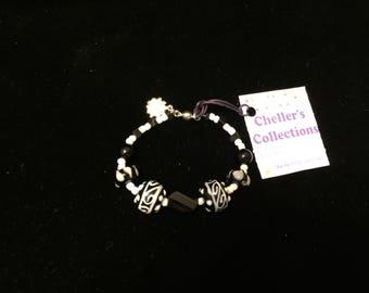 Hand Crafted Single Strand Beaded Bracelet Original