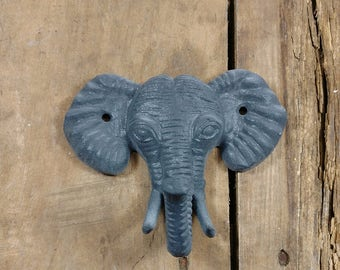 Cast Iron Elephant Coat Hook