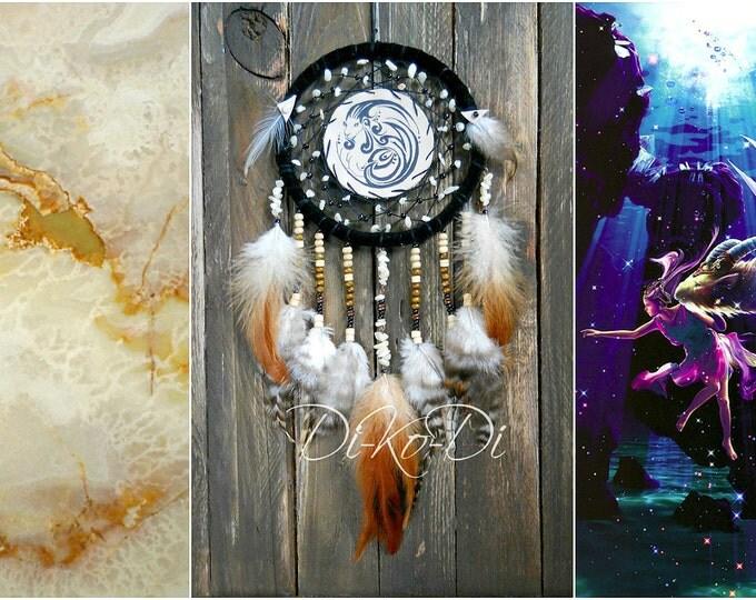 Dreamcatcher zodiac dreamcatcher Capricorn Boho dream catcher Zodiac necklace Dreamcatcher wall family zodiac personalized zodiac hippie