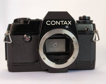 Contax 137 MD with Owner's Manual