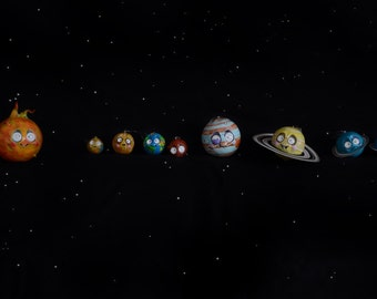 Solar System - handmade and unique