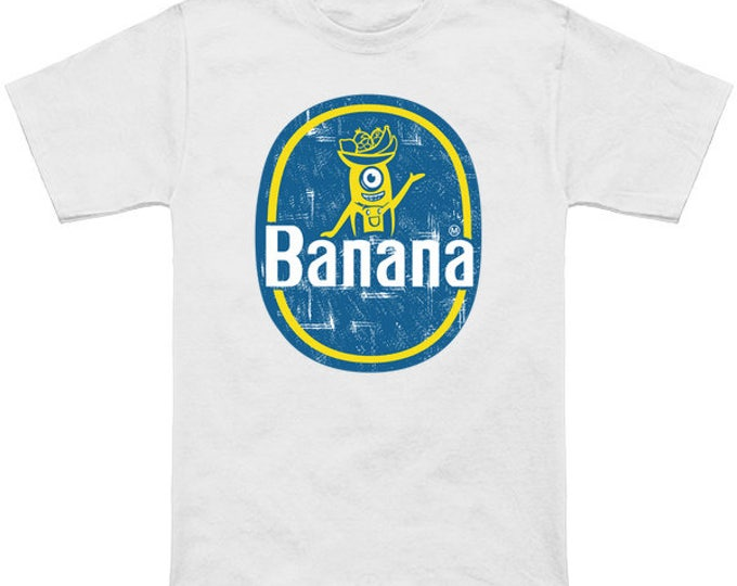MINION BANANAAAS Geek T-Shirt Despicable Me 2 & 3 Minions Movie Banana Gru Carl Stuart Dave Bob Nerd Pop Culture Shirt