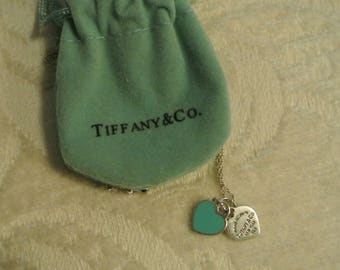 Tiffany and Co Two Heart Necklace