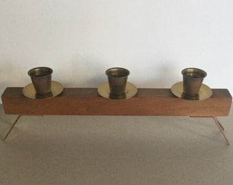 Mid century 50 's/60's candle holders