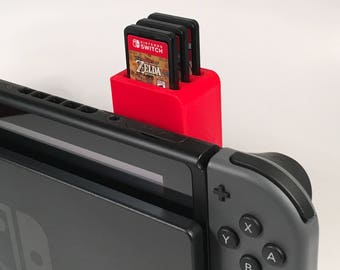 Nintendo Switch Game Cartridge Holder- Holds 3 Games