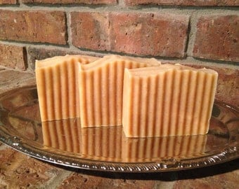 Oatmeal Milk amd Honey Goats Milk Soap all natural unscented
