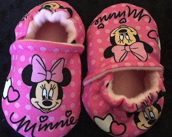 Minnie Mouse Crib Shoes