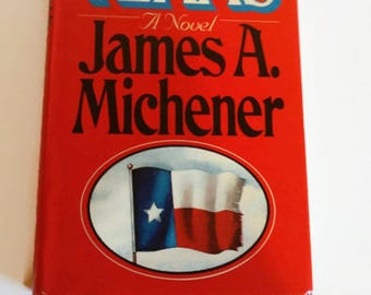 Texas by James A. Michener    Hardcover  Historical Novel/Literary Fiction