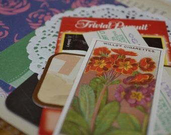 Junk Journal Mixed Media Paper Kit