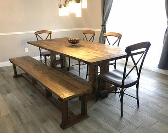 Stanchfield Farmhouse Table (Local Pick up/Delivery Only!)