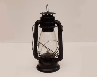 Vintage FROWO N 75 East Germany Kerosene Lamp Storm Lantern Original Glass 1940's