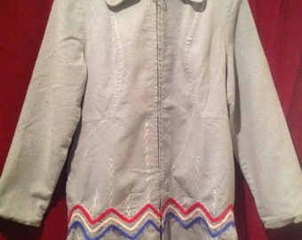 Vintage Ladies Jacket / make - SILPIT industries Ltd -  Styled by Canadian Sportswear - made in Canada