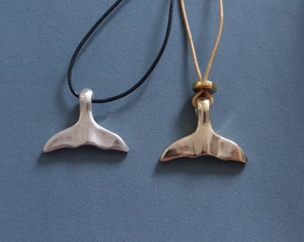 dolphin tail necklace