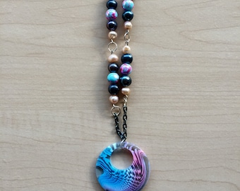 Bubble Gum Pendant Necklace