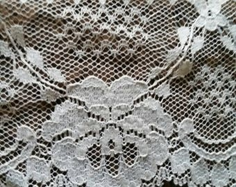 Vintage old new white lace.  2 1/2 inches wide. Total of 36 yards