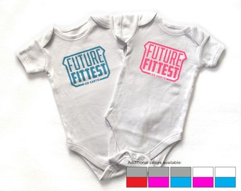 Future Fittest Crossfit Baby Onesie Bodysuit