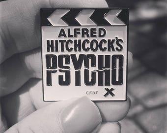 Alfred Hitchcock's Psycho Enamel Pin