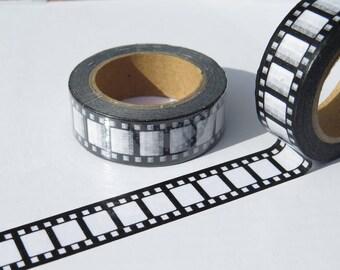 Reto Vintage Camera Film Design Washi Tape / Camera Film Decorative Tape