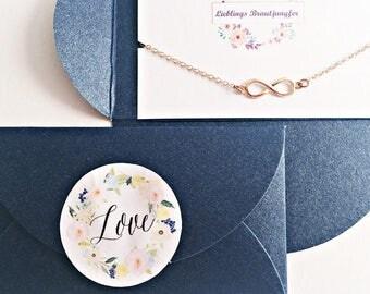 4x maid of honor gift, bridesmaid bracelet