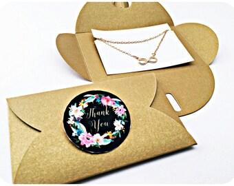 3x Infinity Chain, Infinity, Infinity, Bridesmaid Gift, Gift, Love, Birthday Gift