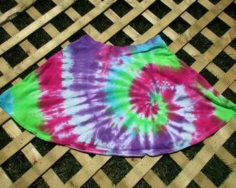 Tie Dye Skater Skirt (Medium)