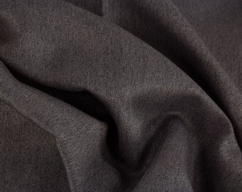 Bag fabric Rome dark grey