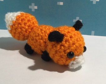 Amigurumi fox, Crochet fox, fox plush