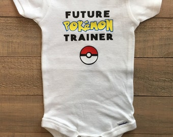 Pokemon Go, Pokemon Go Trainer, Future Pokemon Trainer, Pokemon Baby, Pokemon Onesie, Pokemon Baby, Pokemon Trainer, Pokemon, Pokemon Onsie