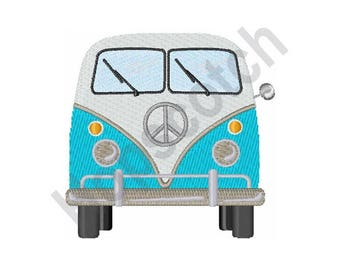 Splitty Van - Machine Embroidery Design