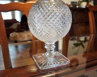 Westmoreland Glass ~ English Hobnail ~ Pedestal Rose Bowl Vase ~ Clear Glass – Rare