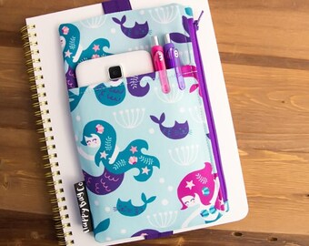 Mermaid Planner Bag - Planner Pen Holder - Planner Girl - Planner Storage Bag - Planner Addict - Planner Junkie - Mermaids #42