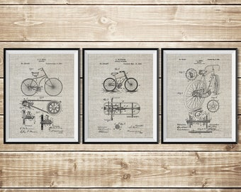 Bicycling Wall Art, Bicycle Wall Art, Bicycle Wall Print, Cycling Wall Decor, Bicycle Blueprint, Cycling Poster, Bicycle, INSTANT DOWNLOAD