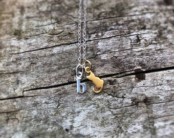 Personalised Cat Charm Necklace