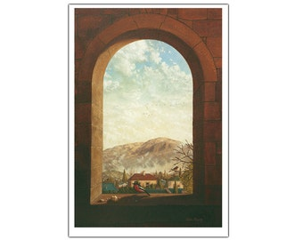 Hobart Winter - Fine Art Greeting Card (blank inside)